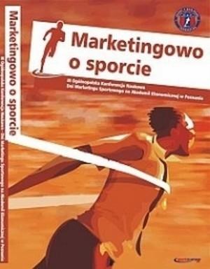 Okładka książki Marketingowo o sporcie