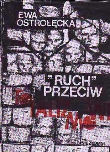 """Okładka książki """"Ruch"""" przeciw totalizmowi"""