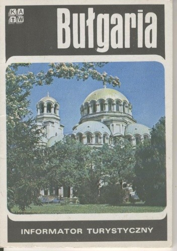 Okładka książki Bułgaria. Informator turystyczny