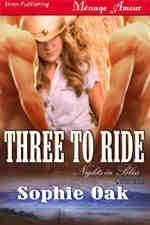 Okładka książki Three To Ride