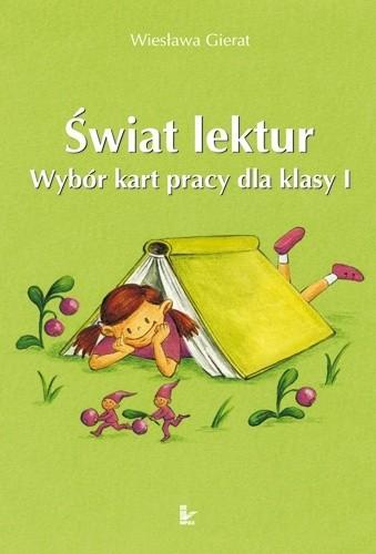 Okładka książki Świat lektur. Wybór kart pracy dla klasy I