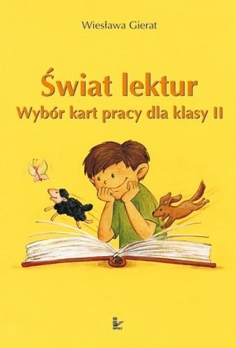Okładka książki Świat lektur. Wybór kart pracy dla klasy II