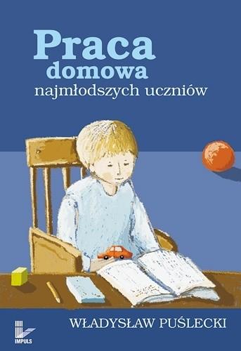 Okładka książki Praca domowa najmłodszych uczniów