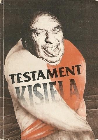 Okładka książki Testament Kisiela