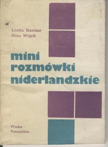 Okładka książki Mini rozmówki niderlandzkie