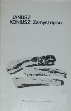 Okładka książki Zmysł opisu