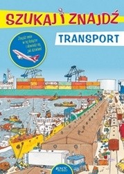 Okładka książki Szukaj i znajdź. Transport