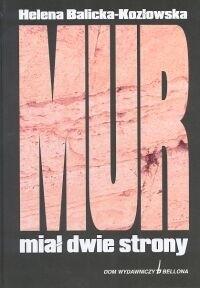 Okładka książki Mur miał dwie strony