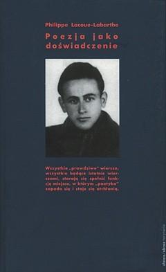 Okładka książki Poezja jako doświadczenie