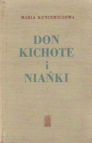Okładka książki Don Kichote i niańki
