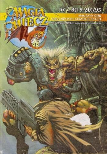Okładka książki Magia i Miecz nr 7-8 (19-20)/95