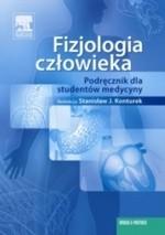Okładka książki Fizjologia człowieka. Podręcznik dla studentów medycyny