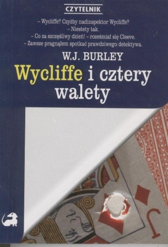 Okładka książki Wycliffe i cztery walety