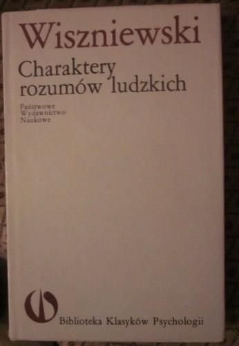 Okładka książki Charaktery rozumów ludzkich