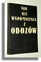 Okładka książki Wspomnienia z obozów