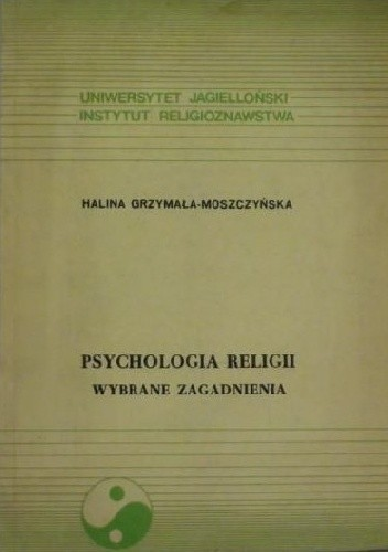 Okładka książki Psychologia religii. Wybrane zagadnienia