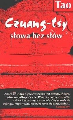 Okładka książki Czuang-tsy słowa bez słów