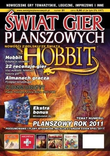 Okładka książki Świat Gier Planszowych #21
