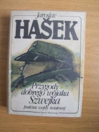Okładka książki Przygody dobrego wojaka Szwejka podczas wojny światowej, t. I i II