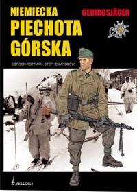Okładka książki Niemiecka Piechota Górska