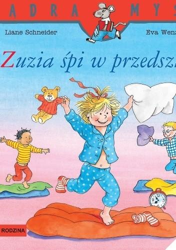 Okładka książki Zuzia śpi w przedszkolu