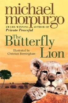 Okładka książki The Butterfly Lion