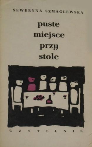 Okładka książki Puste miejsce przy stole