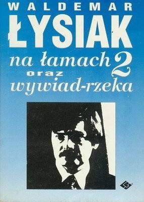 Okładka książki Łysiak na łamach 2