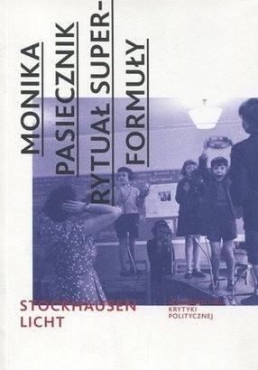 Okładka książki Rytuał superformuły. Karlheinz Stockhausen