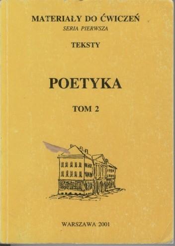 Okładka książki Poetyka. Tom 2