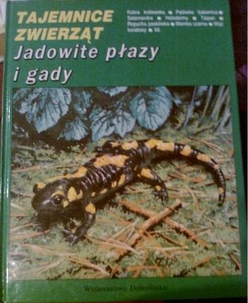 Okładka książki Jadowite płazy i gady