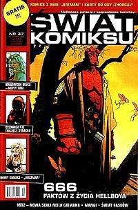 Okładka książki Świat Komiksu #37 (październik 2004)