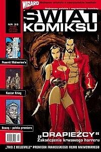 Okładka książki Świat Komiksu #35 (luty 2004)