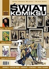 Okładka książki Świat Komiksu #33 (sierpień 2003)