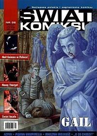 Okładka książki Świat Komiksu #32 (kwiecień 2003)