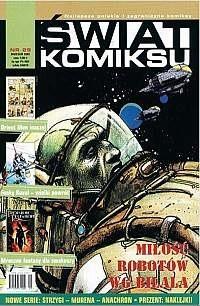 Okładka książki Świat Komiksu - 29 - (sierpień 2002)