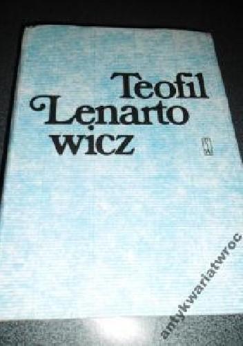 Okładka książki Teofil Lenartowicz i jego poezje