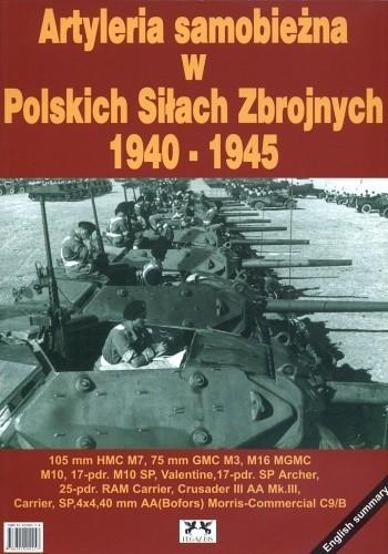 Okładka książki Artyleria samobieżna w Polskich Siłach Zbrojnych 1940-1945