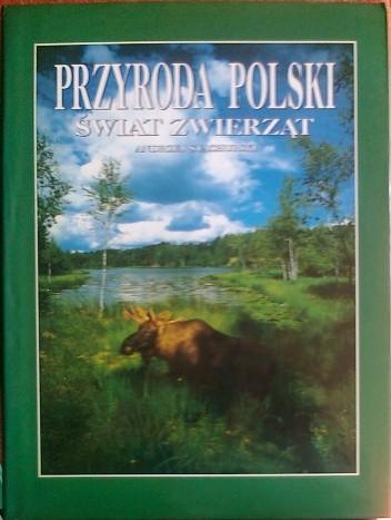 Okładka książki Przyroda Polski, Świat zwierząt