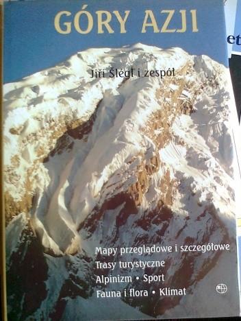 Okładka książki Góry Azji