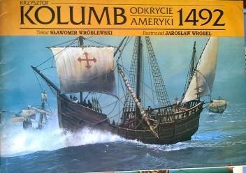 Okładka książki Krzysztof Kolumb, Odkrycie Ameryki 1492