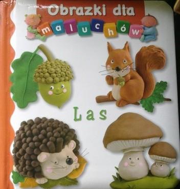Okładka książki Obrazki dla maluchów. Las