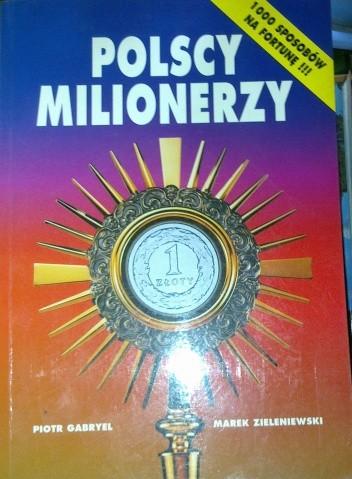 Okładka książki Polscy Milionerzy