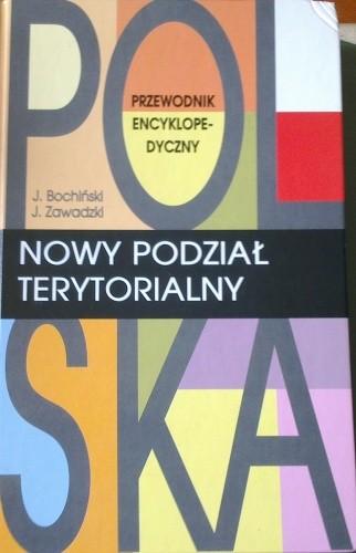 Okładka książki Polska, nowy podział terytorialny