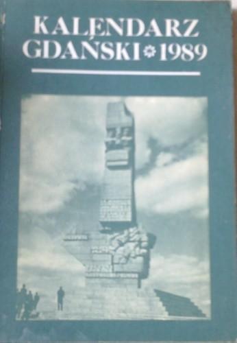 Okładka książki Kalendarz gdański 1989