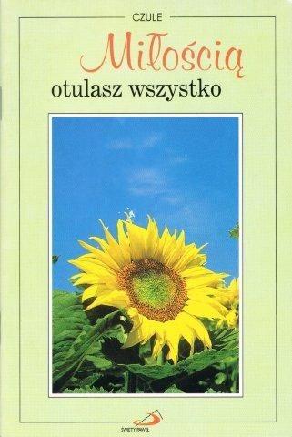 Okładka książki Czule. Miłością otulasz wszystko.