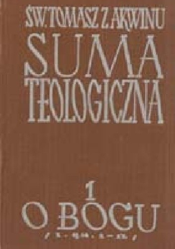 Okładka książki Suma teologiczna