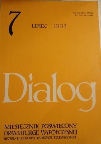Okładka książki Dialog, nr 7 / lipiec 1993