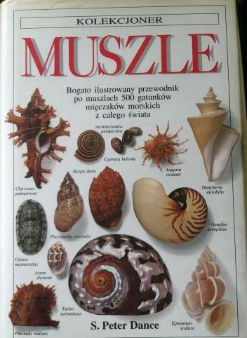 Okładka książki Muszle