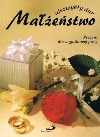 Okładka książki Małżeństwo niezwykły dar
